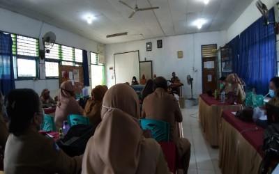 Rapat Bersama Korwas dan Pengawas Pembina SMPN 10 Kendari